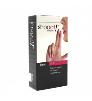 Shooot Basic Condom for Pleasure and Protection (12's)