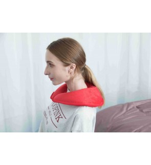 U Shape Electric Heat Pack Neck Warmer Pillow Rechargeable Hot Water Bag for Neck and Shoulders