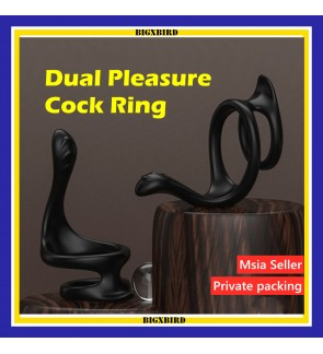 Amazing Dual Enhancement Ring,Wearable Effective Delay Massage Rings Enhance Men's Erections and Pleasure