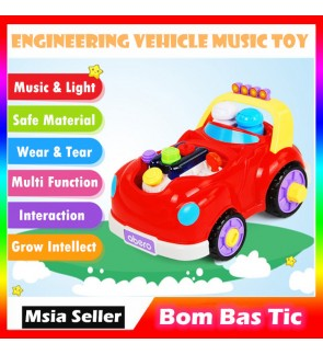 Abero Wonderful Engineering Vehicle with Music for Kids