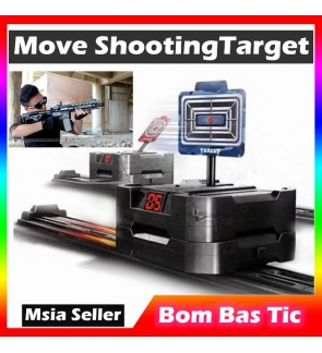Tactical Training Electric Moving Target Nerf Toy Shooting Target Blaster Outdoor Sport Equipment