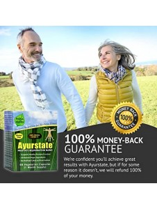 Ayurstate Prostate Supplements for Men, Reduce Frequent Urination, Improve Urine Flow, Supports Healthy Estrogen
